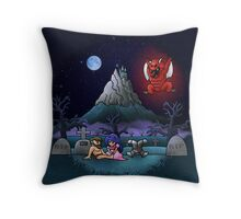 Midsummer Nightmare Throw Pillow