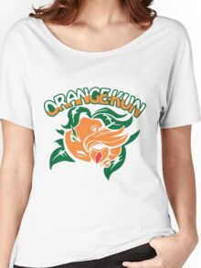 Orange-Kun Women's Relaxed Fit T-Shirt