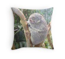 snuggle bear too Throw Pillow