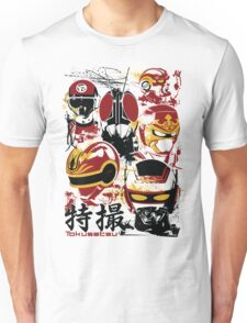 Tokusatsu Assemble 3 colors Unisex T-Shirt