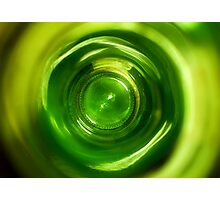 Bottom Of The Bottle Photographic Print