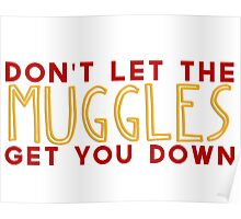 Don't Let The Muggles Get You Down Poster