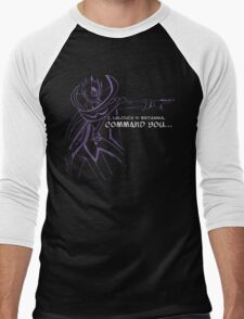 Lelouch Men's Baseball ¾ T-Shirt