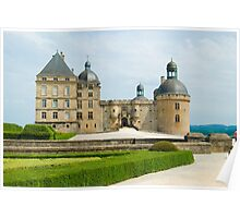 Chateau Hautefort Poster
