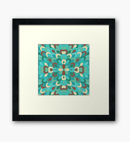 Scales. Framed Print