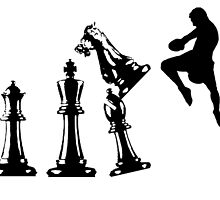 Kickboxing Chess Jumping Knee by yin888