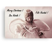 Merry Christmas Series #1 Canvas Print