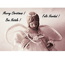 Merry Christmas Series #1 Photographic Print