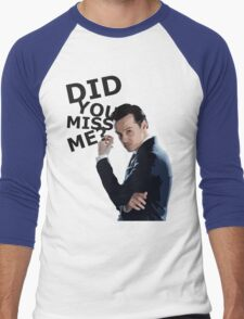 Did you miss me? Men's Baseball ¾ T-Shirt
