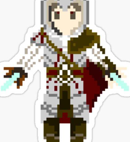 8-Bit Ezio Sticker