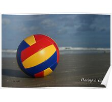 Having A Ball Poster