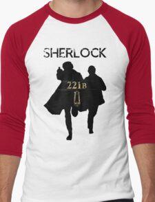 221B Baker Street Men's Baseball ¾ T-Shirt
