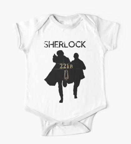 221B Baker Street One Piece - Short Sleeve