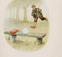 The Story of a Fierce Bad Rabbit Beatrix Potter 1906 0049 All He Finds on the Bench Carrot and Tail by wetdryvac