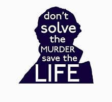 Don't Solve The Murder, Save The Life Men's Baseball ¾ T-Shirt