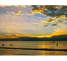 Christies Beach @ dusk Photographic Print