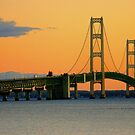 Mackinac Bridge by JpPhotos