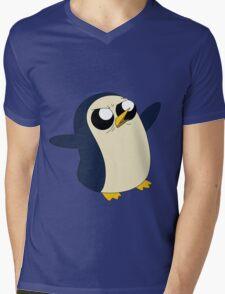 Adventure Time - Angry Gunter Mens V-Neck T-Shirt