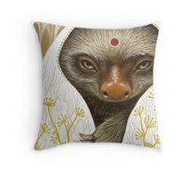 Medicine Sloth Throw Pillow