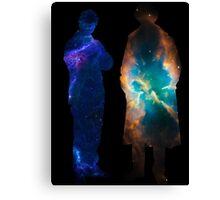 Sherlock Galaxies Canvas Print