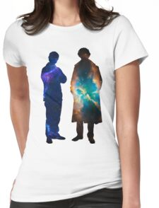 Sherlock Galaxies Womens Fitted T-Shirt