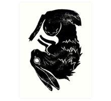 Wit and Bun Art Print