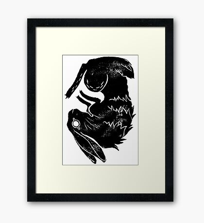 Wit and Bun Framed Print