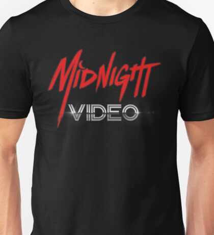 MIDNIGHT VIDEO Unisex T-Shirt