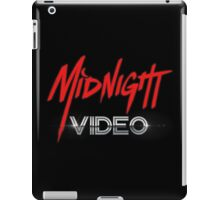 MIDNIGHT VIDEO iPad Case/Skin