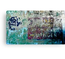 Bunker - WW-II Comes To The San Francisco Bay Area... Canvas Print