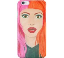 Hayley Art iPhone Case/Skin