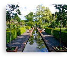 Winterhome Garden, Kekerengu, South Island, New Zealand. Canvas Print