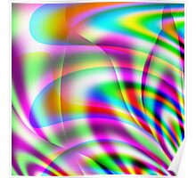 Colorburst Abstract Poster