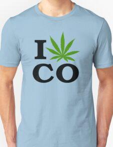 I Marijuana Colorado Unisex T-Shirt