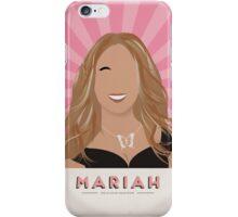 Mariah Carey Propaganda Illustration iPhone Case/Skin