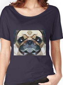 PUG LUV Women's Relaxed Fit T-Shirt