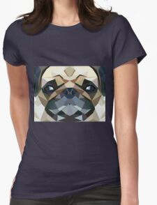 PUG LUV Womens Fitted T-Shirt