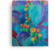 Joyful Prickly Pear Canvas Print