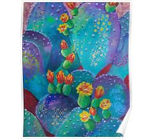 Joyful Prickly Pear Poster