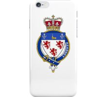 Coat of arms (family crest) for last-name or surname Kearney (Ireland) . Heraldry banner for your name. iPhone Case/Skin