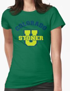 Colorado Cannabis Womens Fitted T-Shirt