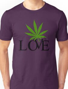 Love Marijuana Cannabis Unisex T-Shirt