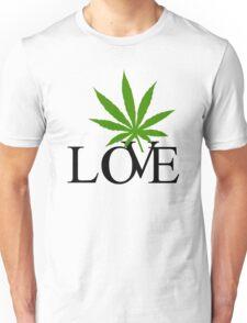Love Marijuana Cannabis Unisex T-Shirt