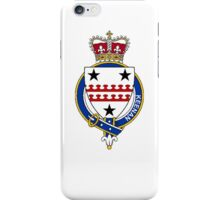 Coat of arms (family crest) for last-name or surname Keenan (Ireland) . Heraldry banner for your name. iPhone Case/Skin
