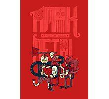 Amok and Totally Metal Photographic Print
