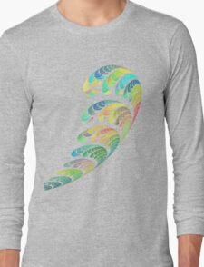 SPACE ART DECO # 3 Long Sleeve T-Shirt