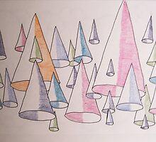 Downward cones by Roger-Cyndy
