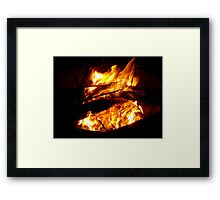 Find the fire in you Framed Print