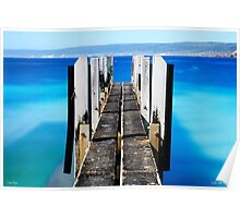 Canal Rocks Boat Ramp Poster