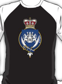 Coat of arms (family crest) for last-name or surname Kelly (Ireland) . Heraldry banner for your name. T-Shirt